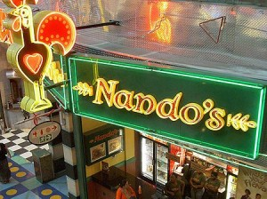 Nando's Franchise For sale In South Africa